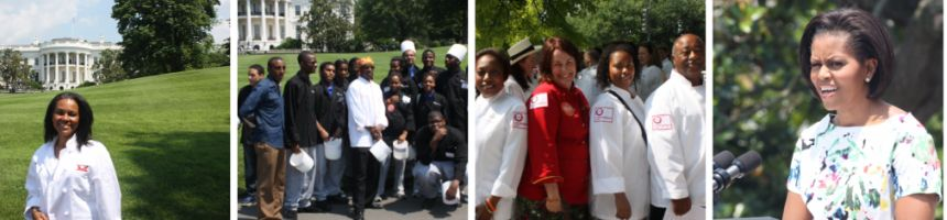 CHEFDOM HONORED, INSPIRED ON THE SOUTH LAWN